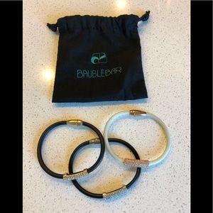 Set of three Baublebar bracelets